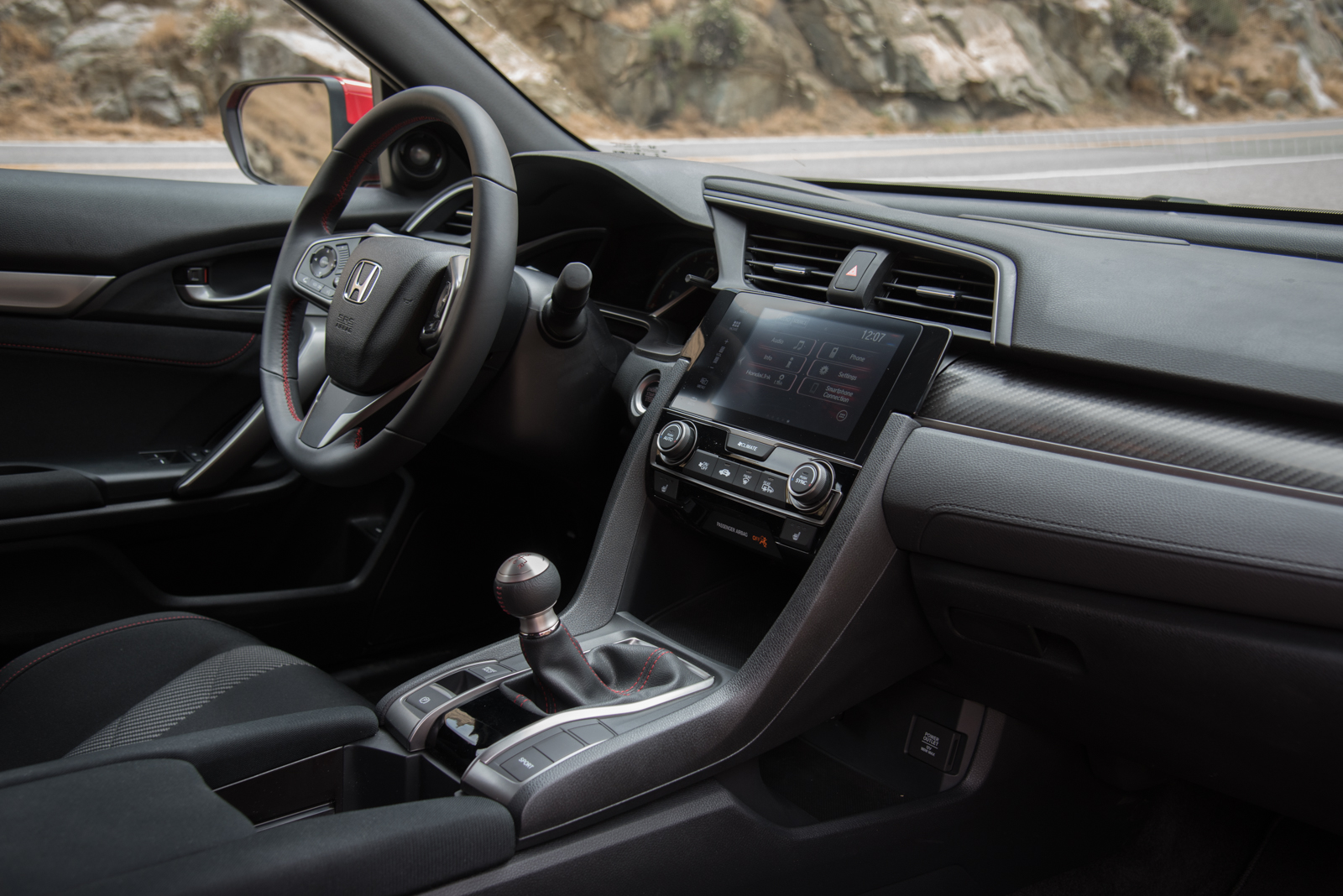 ... 2017 Honda Civic Si Interior ...