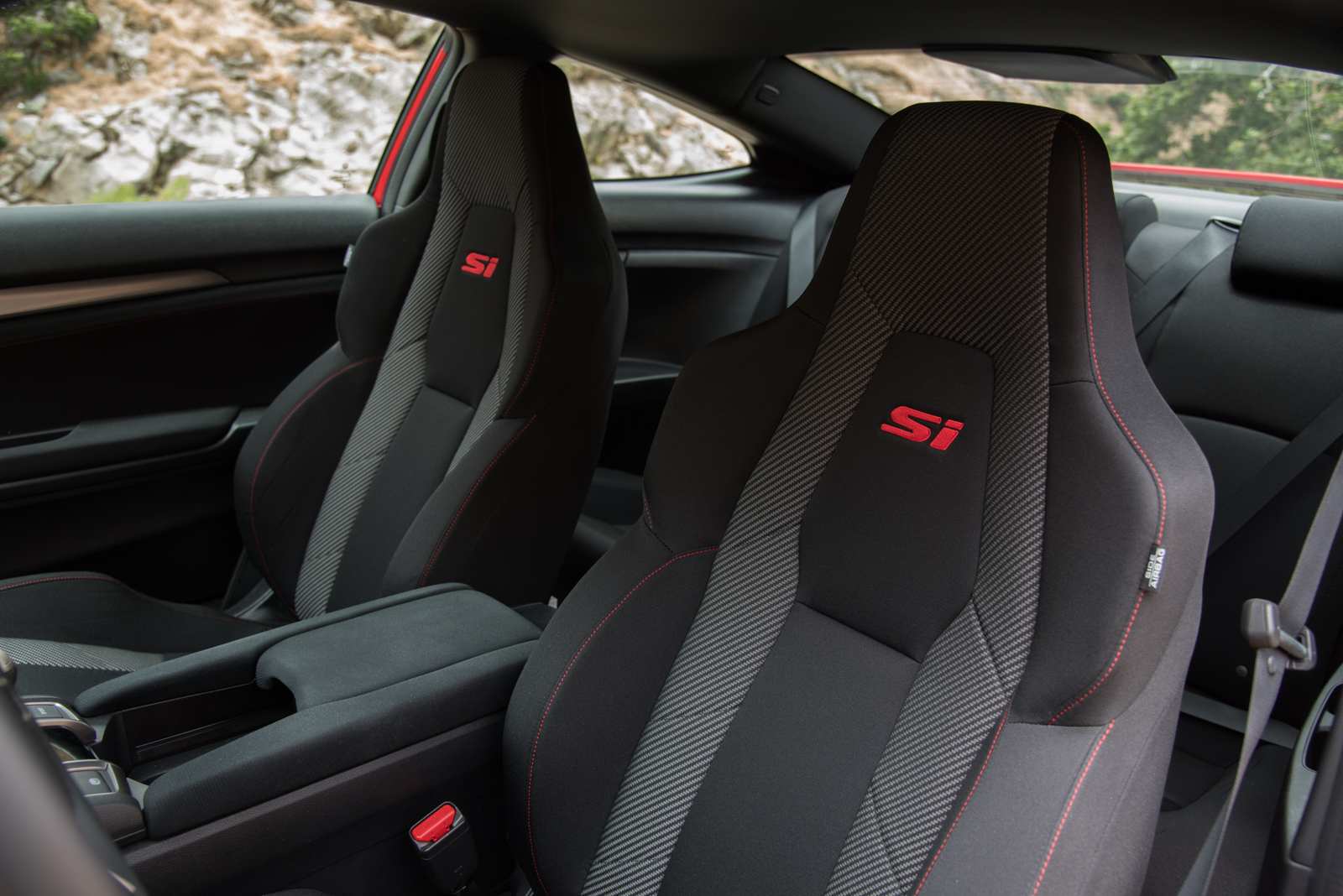 2017 Honda Civic Si Seat 02