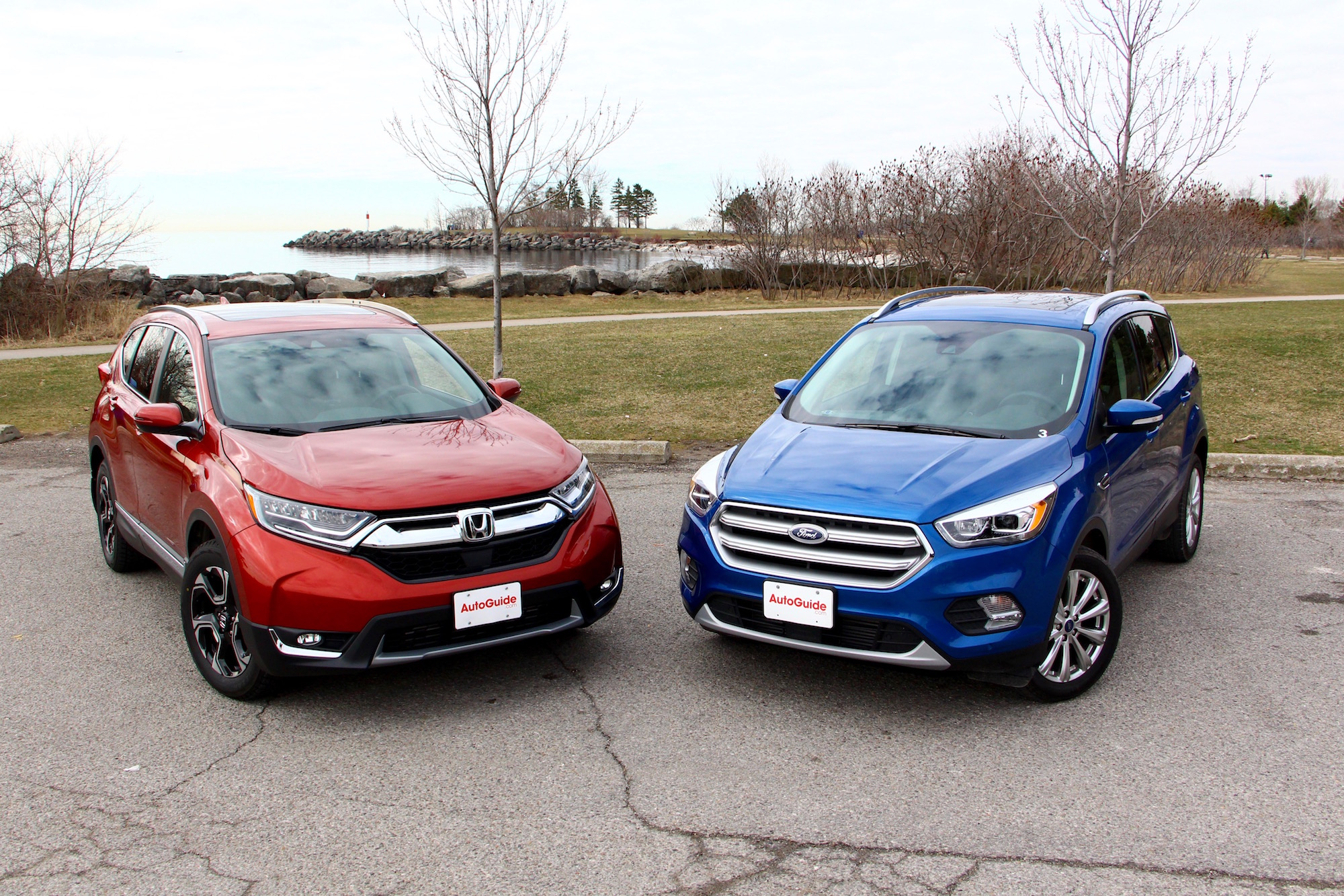 2017 Honda CRV vs 2017 Ford Escape  AutoGuidecom News
