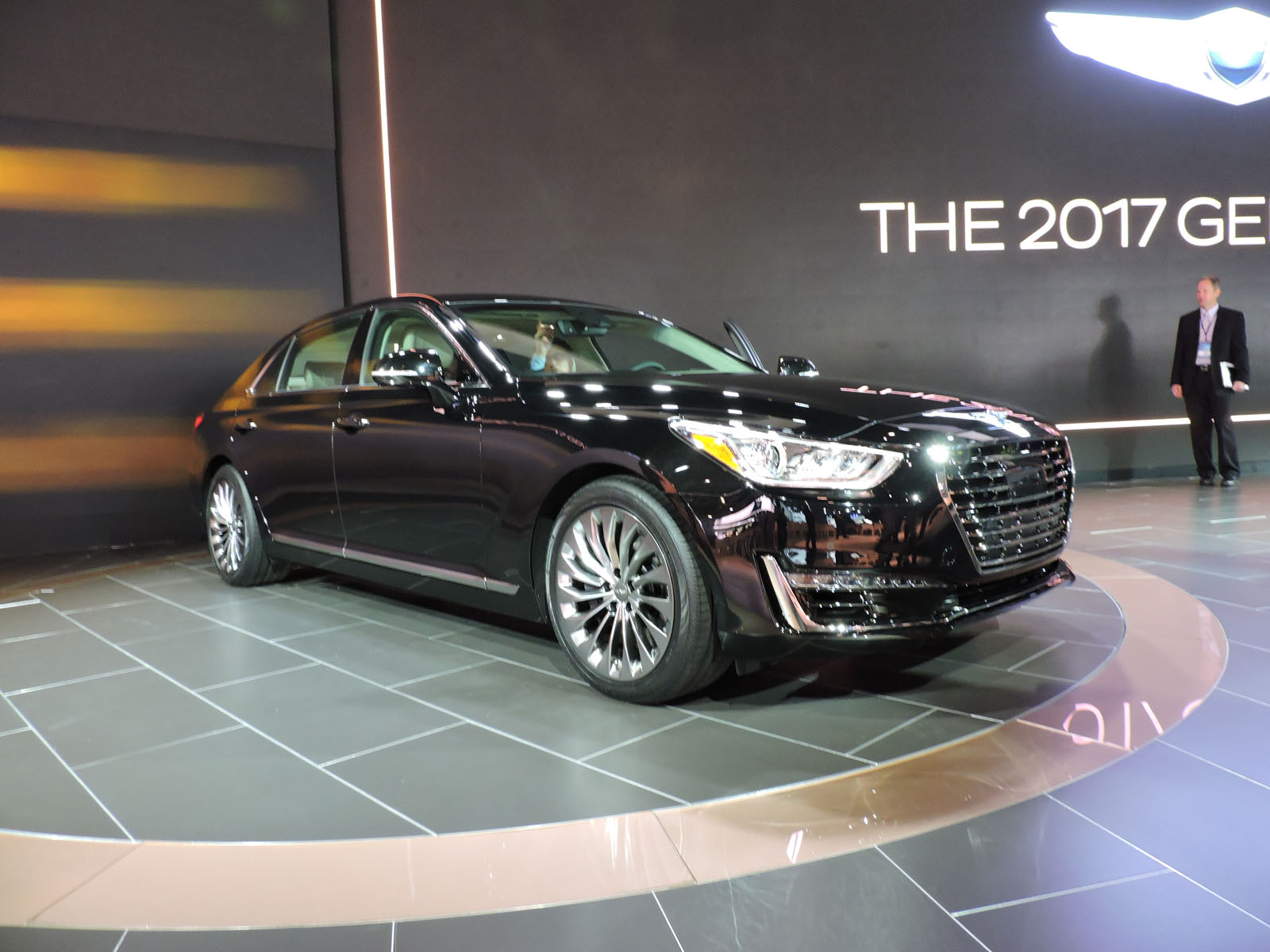 6 things you should know about the 2017 genesis g90 from. Black Bedroom Furniture Sets. Home Design Ideas