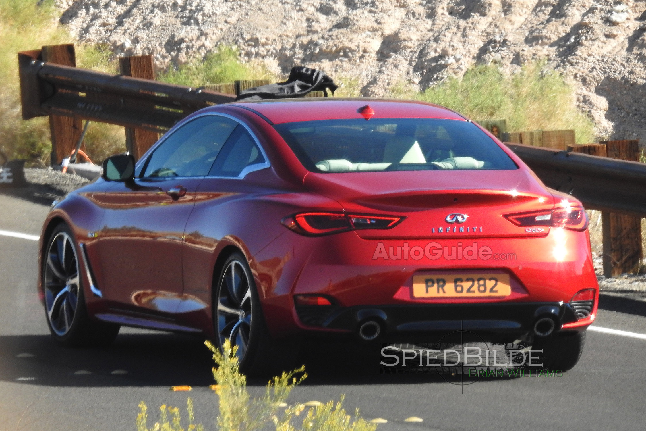 2017 Infiniti Q60 Spy Photos 7