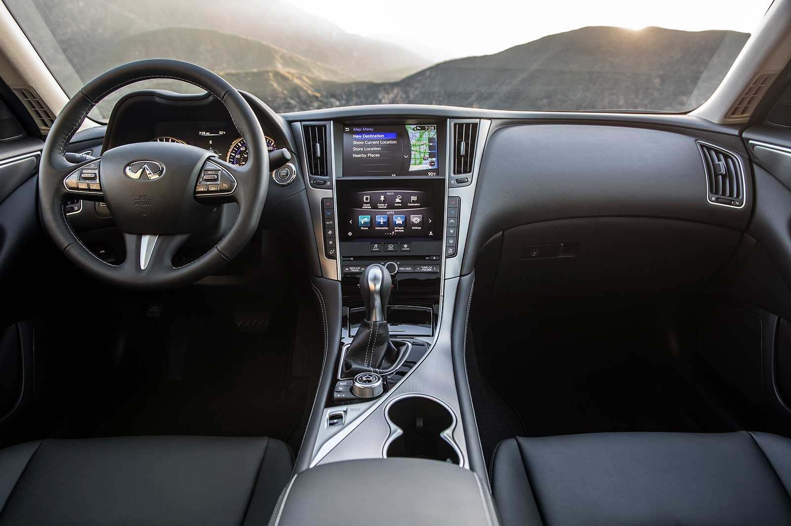 interior date compression so driven infiniti has far new by the suv reviews review car with variable ratio engine made to best