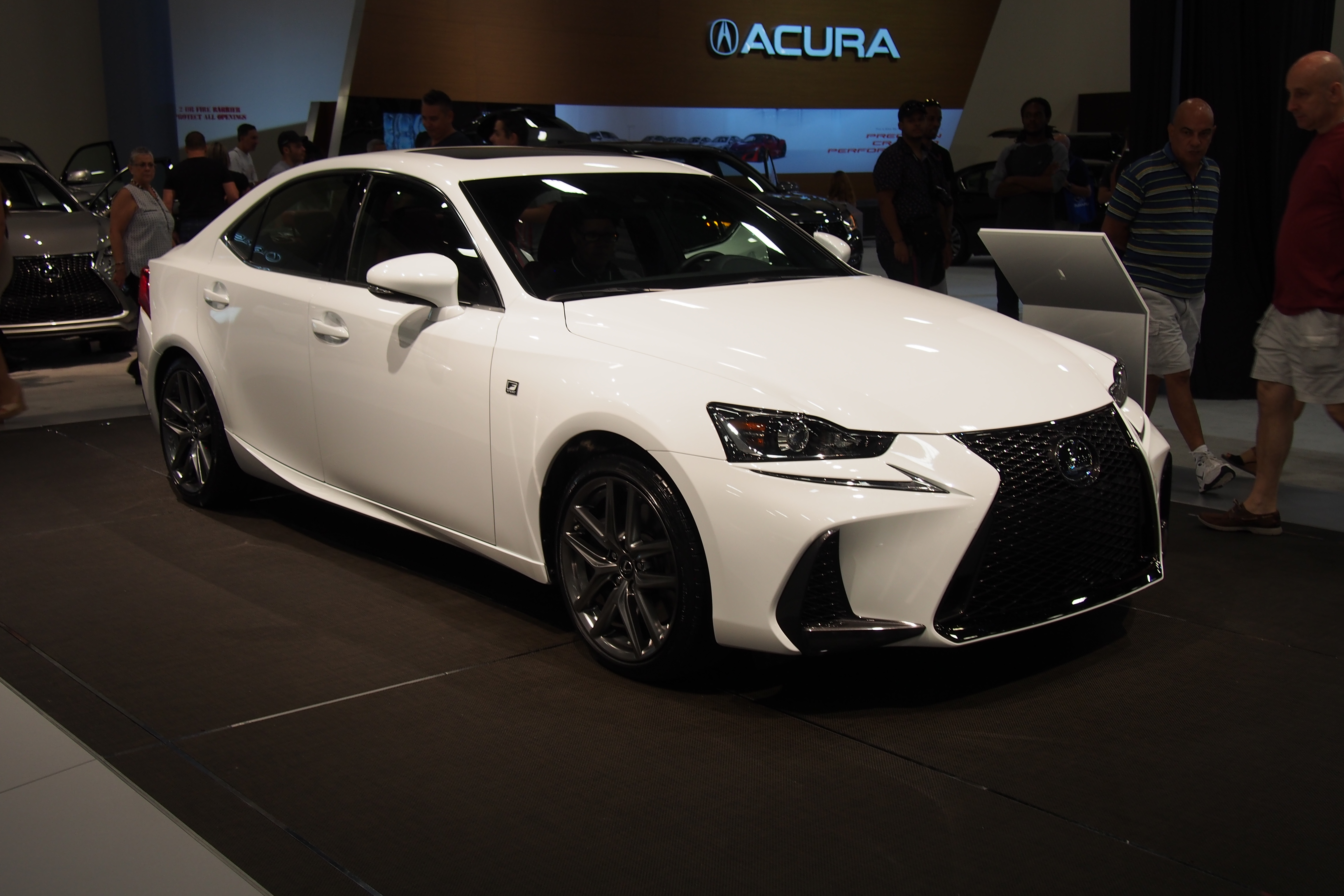 2017 Lexus IS Makes North American Debut » AutoGuide.com News