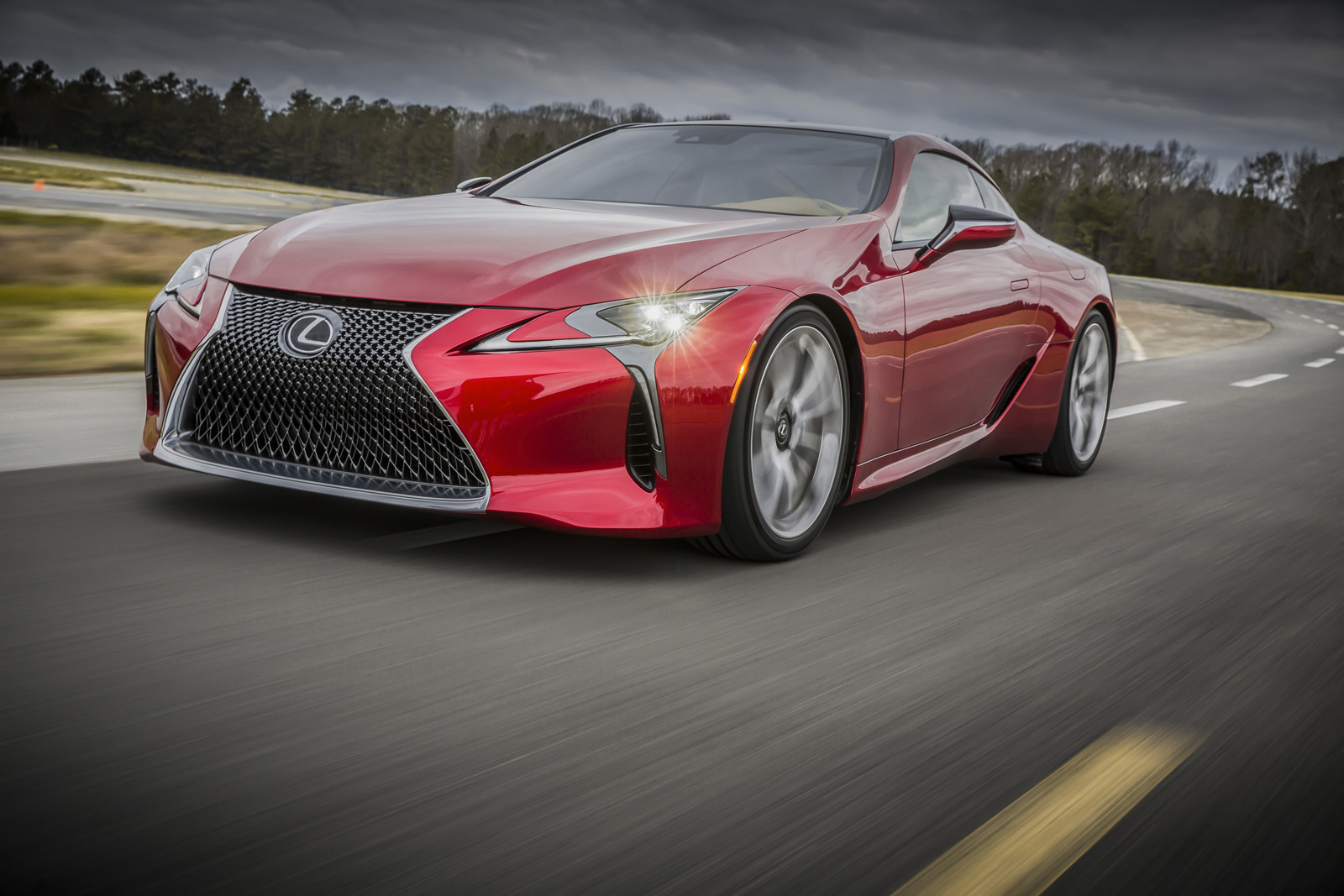 2017 Lexus Lc500 Official Gallery 06