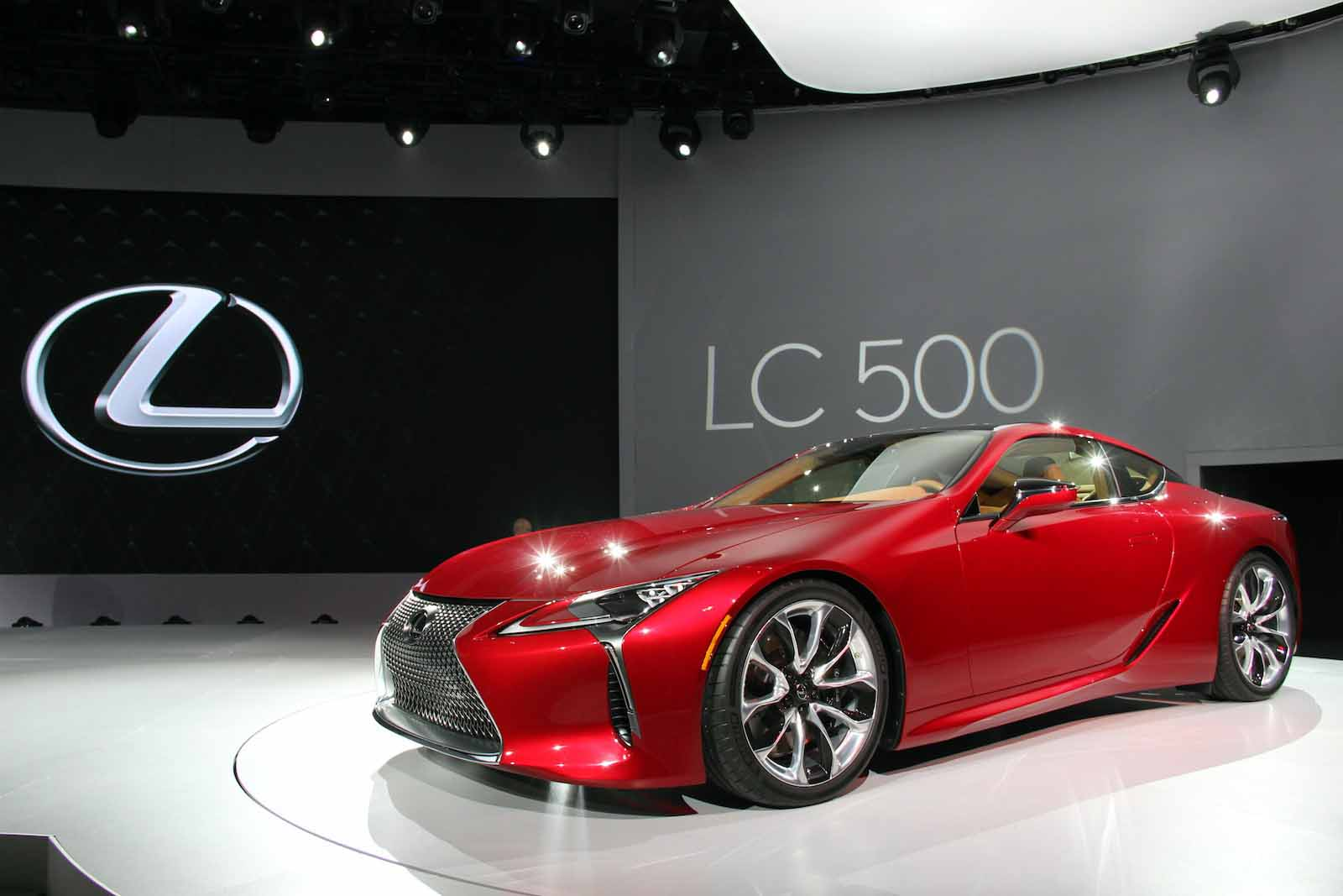 2018 Lexus Lc 500 Video First Look
