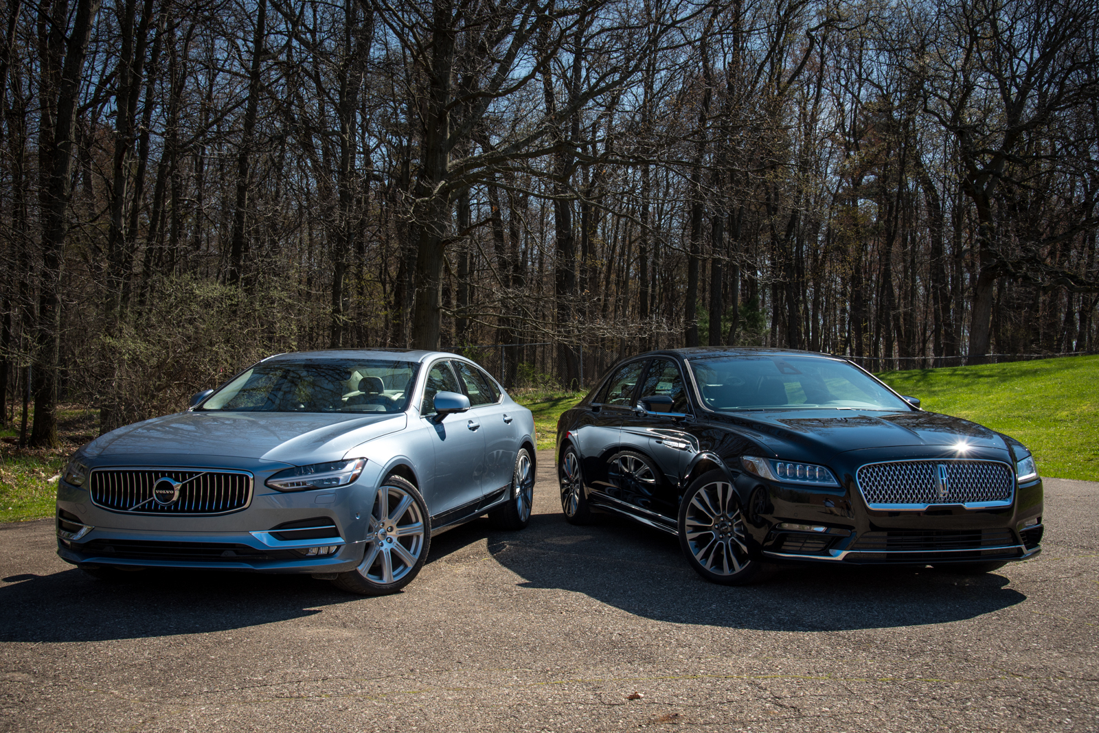 2017 Lincoln Continental Reserve And Volvo S90
