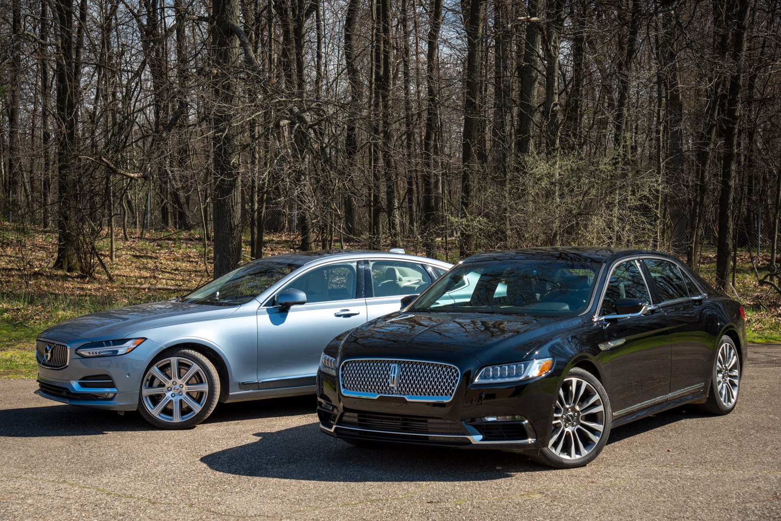 2017 lincoln continental reserve and 2017 volvo s90