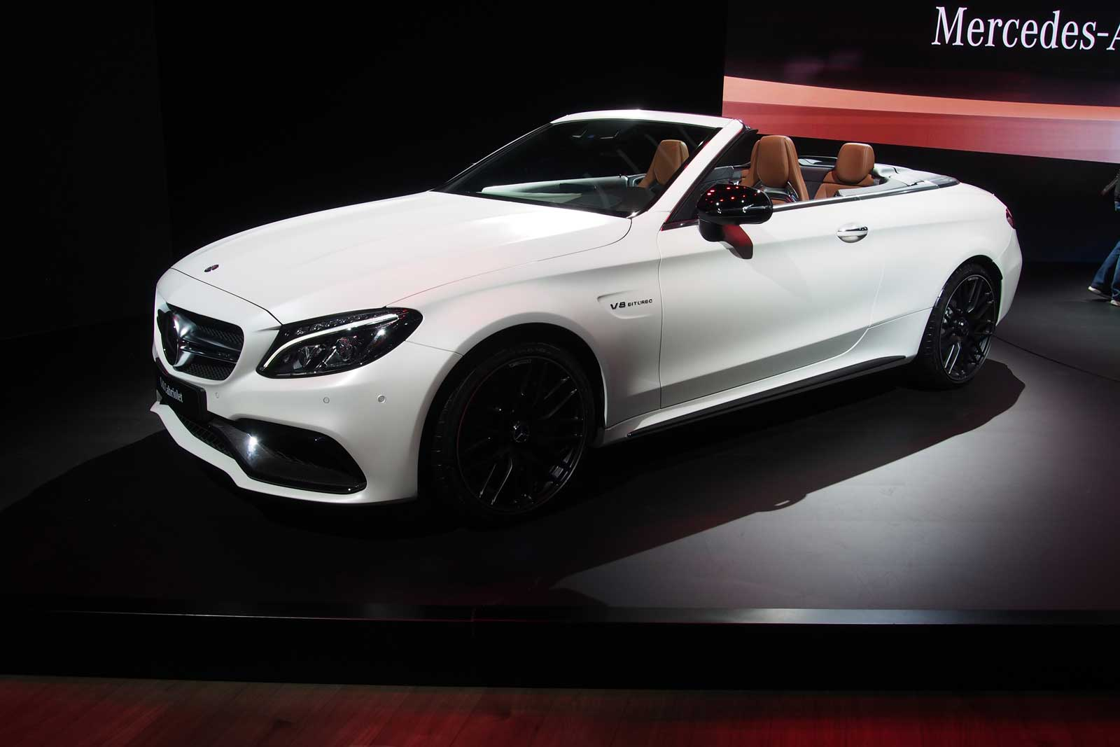 2017 Mercedes Amg C63 Cabriolet Debuts With Twin Turbo V8 187 Autoguide Com News