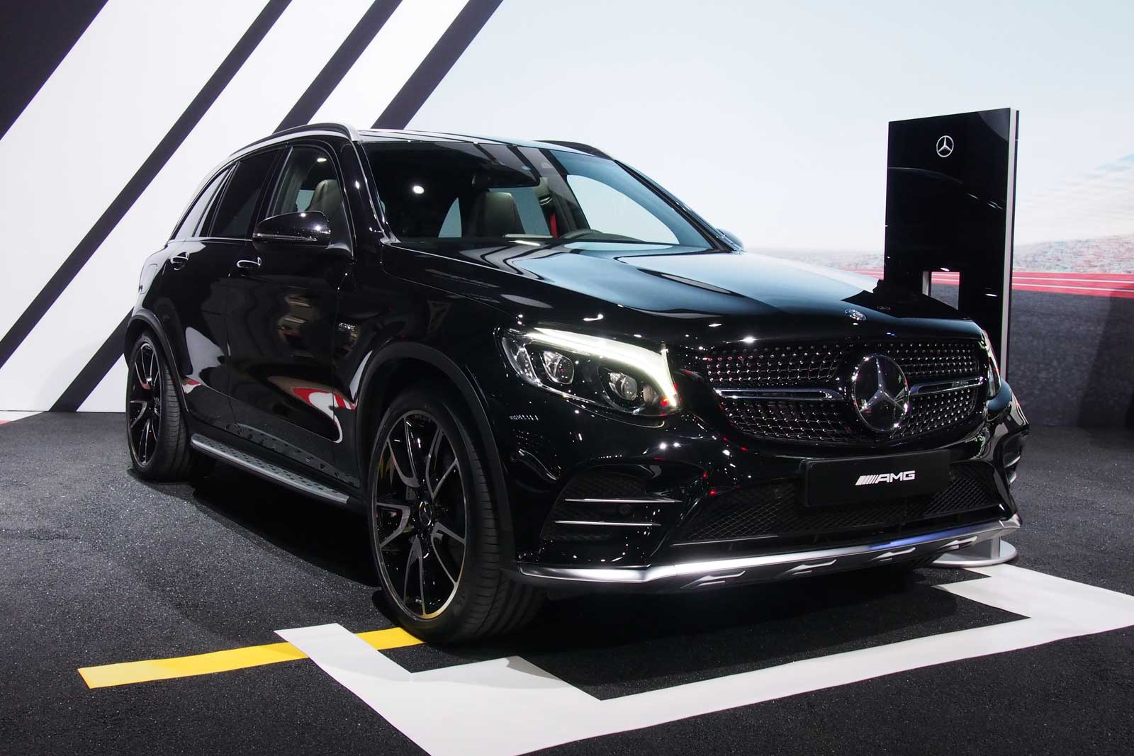 Mercedes-AMG GLC43 Arrives as AMG's First Midsize SUV ...
