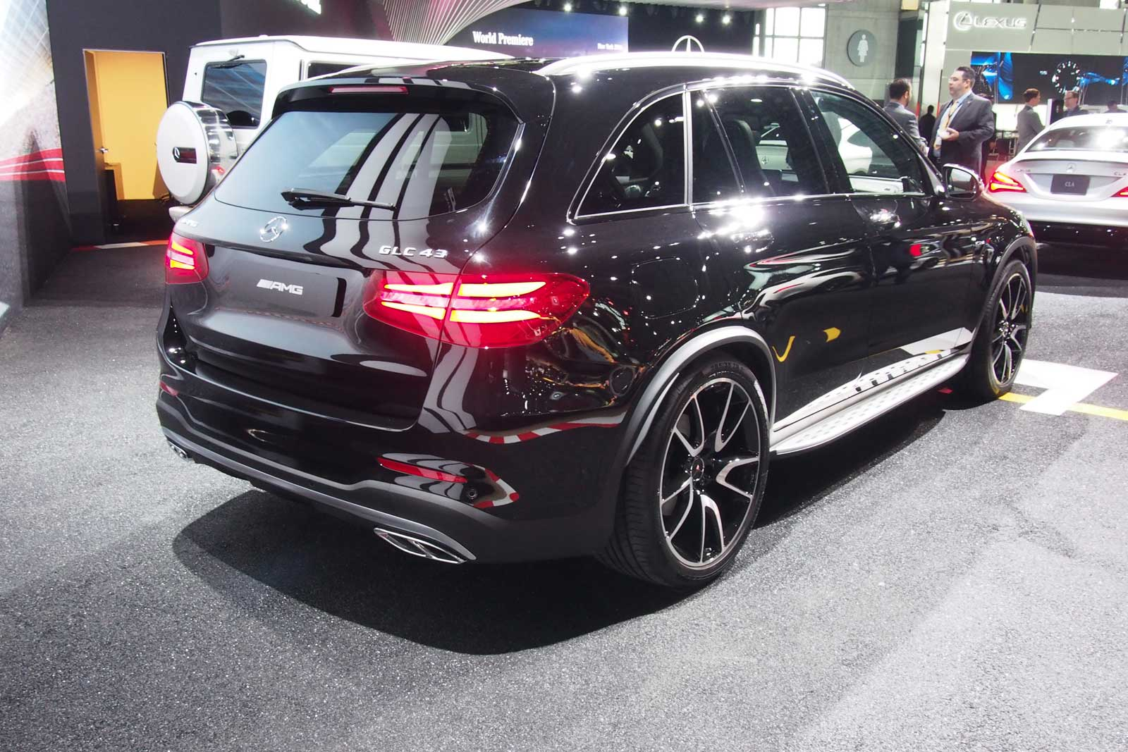 mercedes-amg glc43 arrives as amg's first midsize suv » autoguide