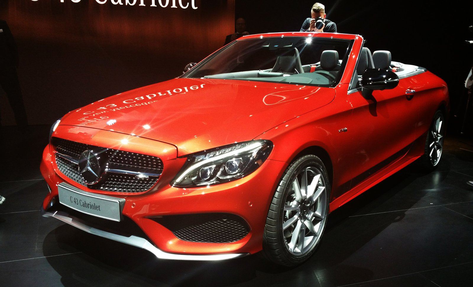 2017 mercedes benz c class cabriolet makes global debut. Black Bedroom Furniture Sets. Home Design Ideas