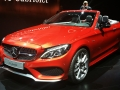 2017 mercedes benz c class cabriolet makes global debut looking like a mini s class autoguide. Black Bedroom Furniture Sets. Home Design Ideas