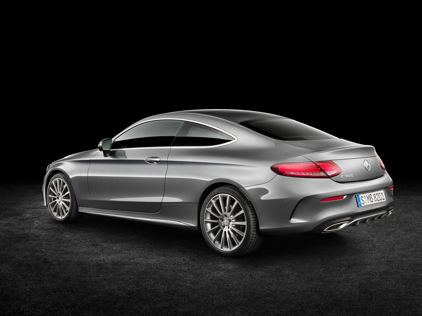 Longer Lower And Wider The 2017 Mercedes C Cl Coupe
