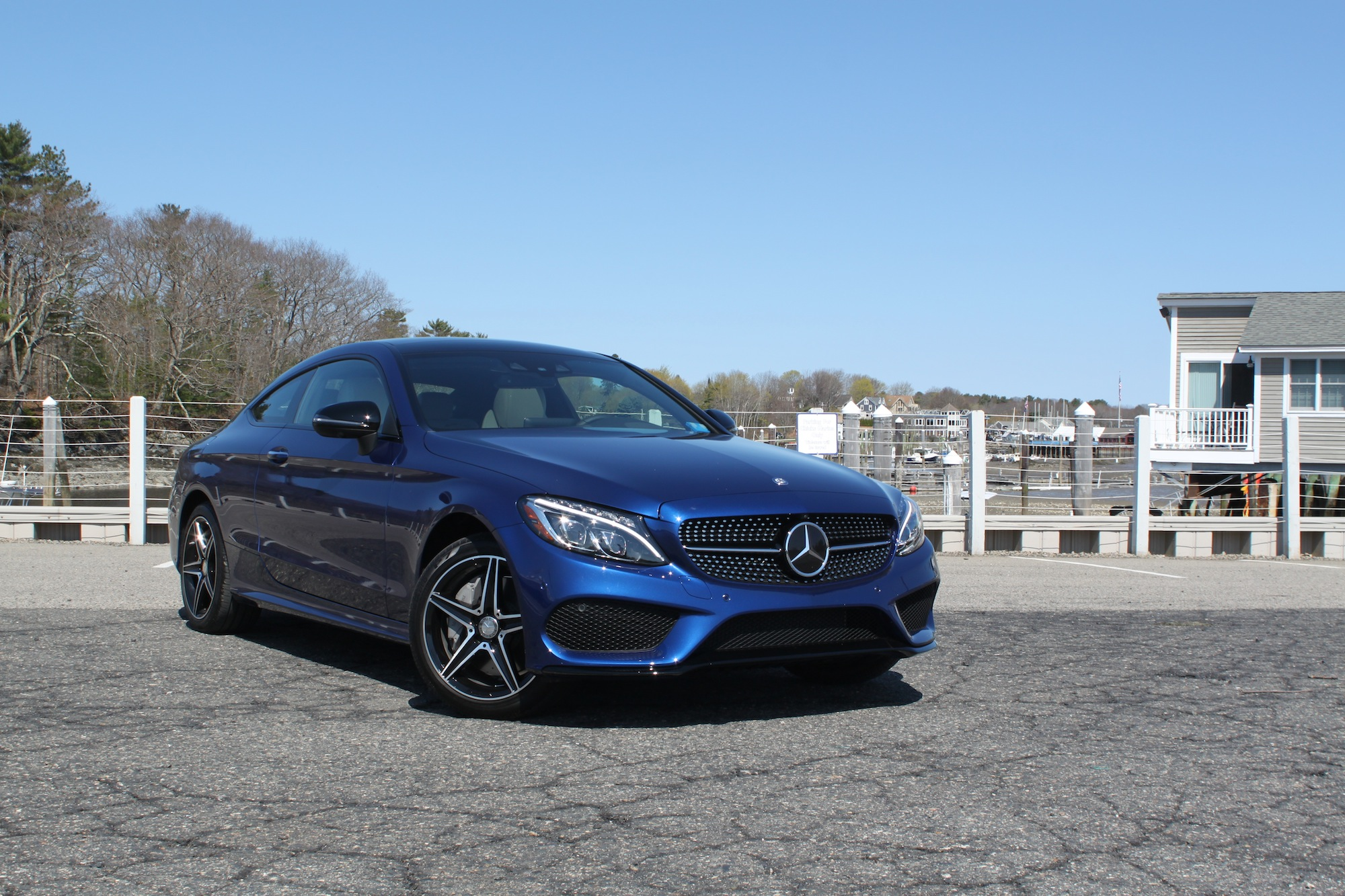 2017 Mercedes Benz C300 Coupe Review 1