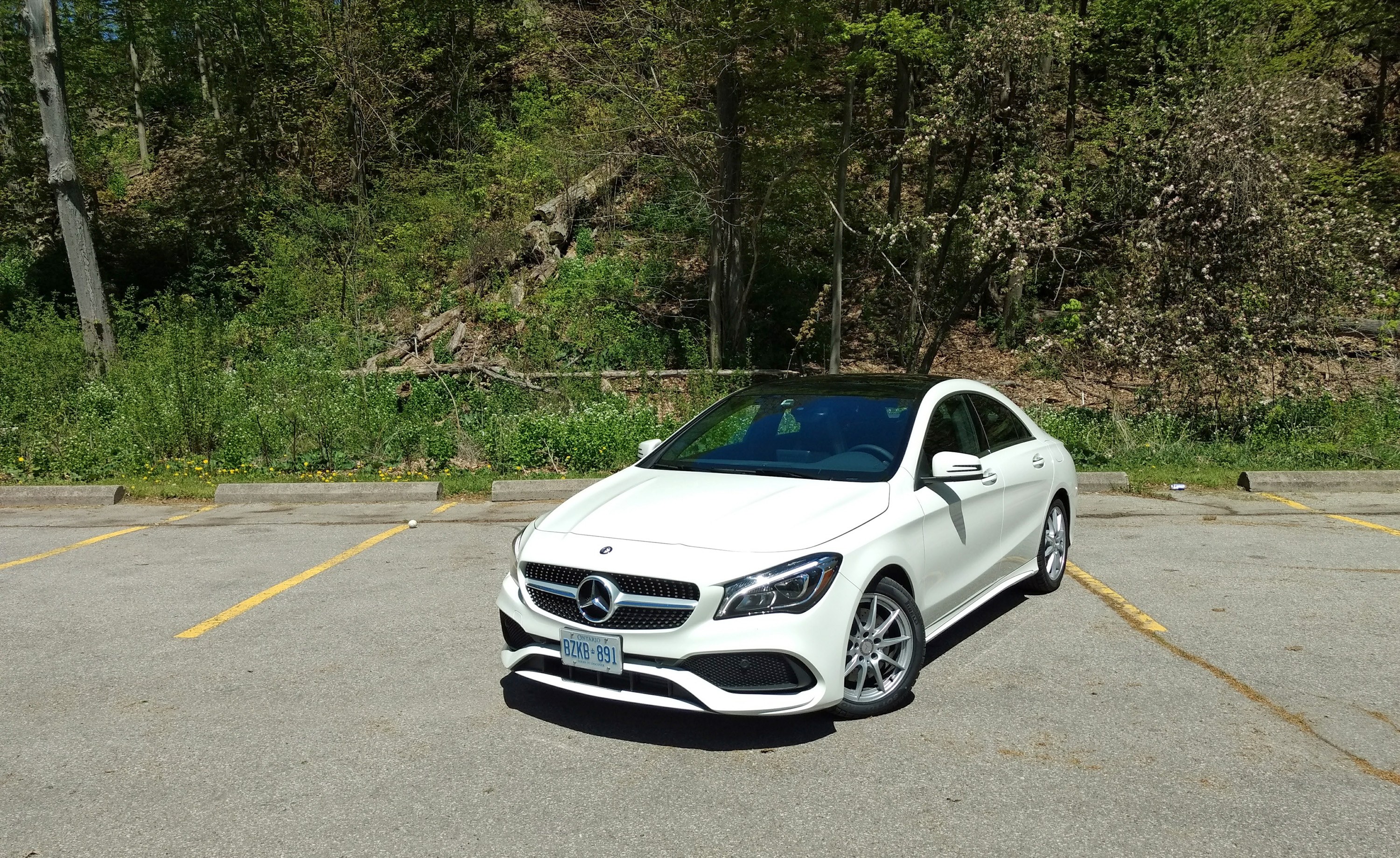 2017 Mercedes Cla 250 4matic Review Front3q High
