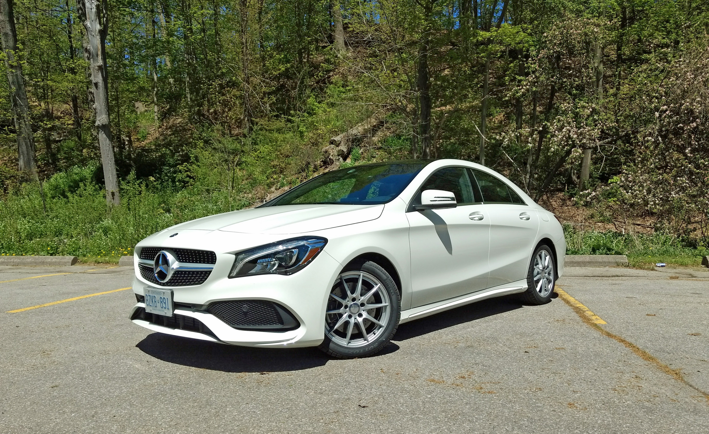Beautiful 2017 Mercedes CLA 250 4Matic Review Front3q ...