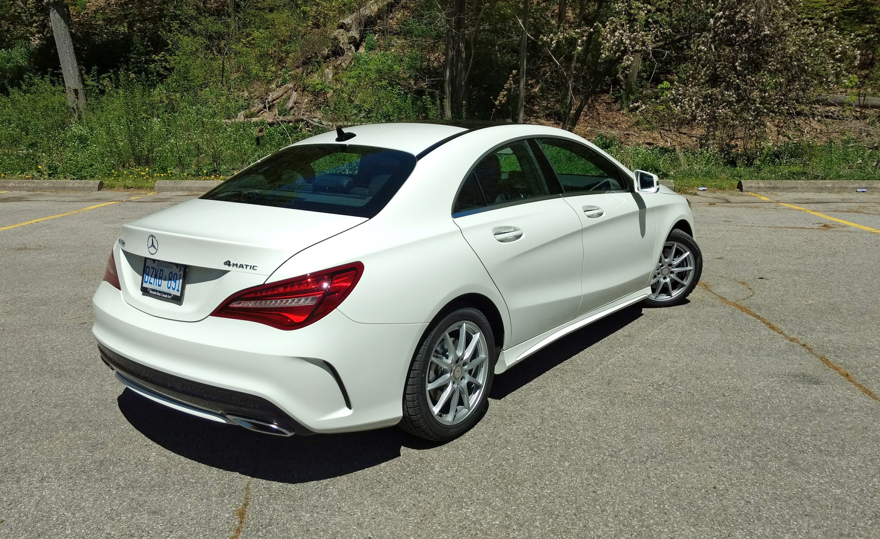 2017 Mercedes Cla 250 4matic Review Rear3q High