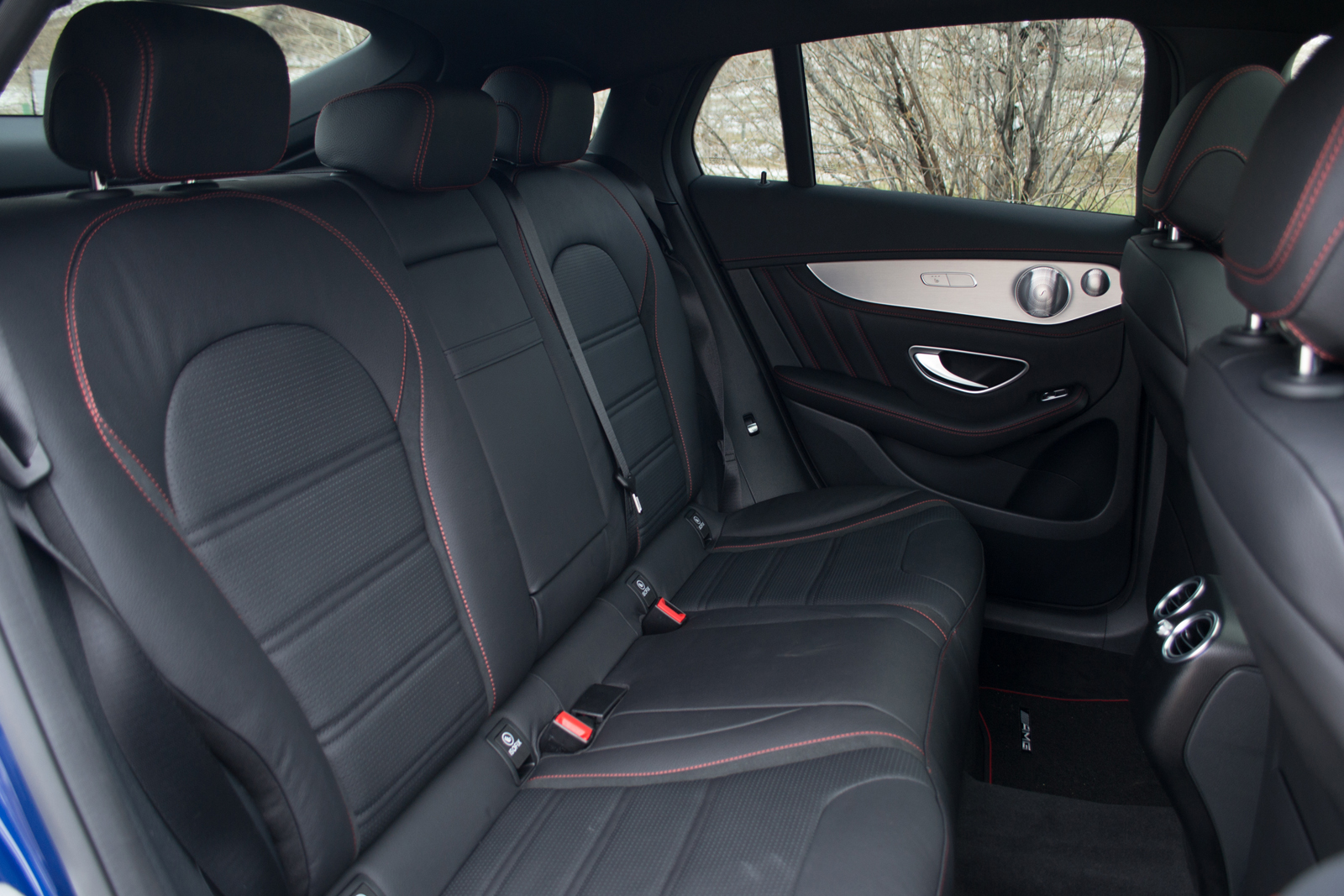 amg 43 how to set the seats