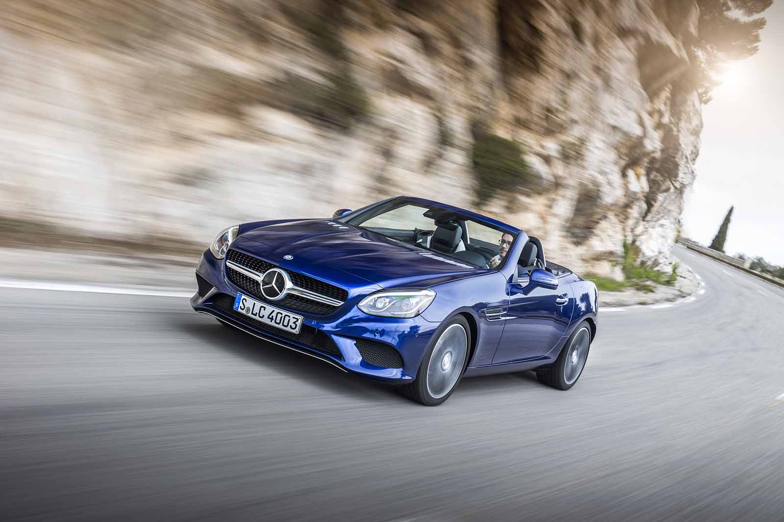 2017 mercedes benz slc 300 roadster review