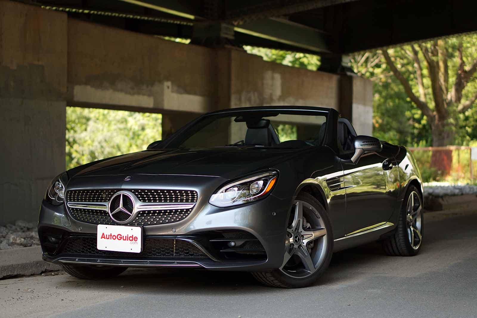 2017 Mercedes Benz Slc 300 Roadster Review N