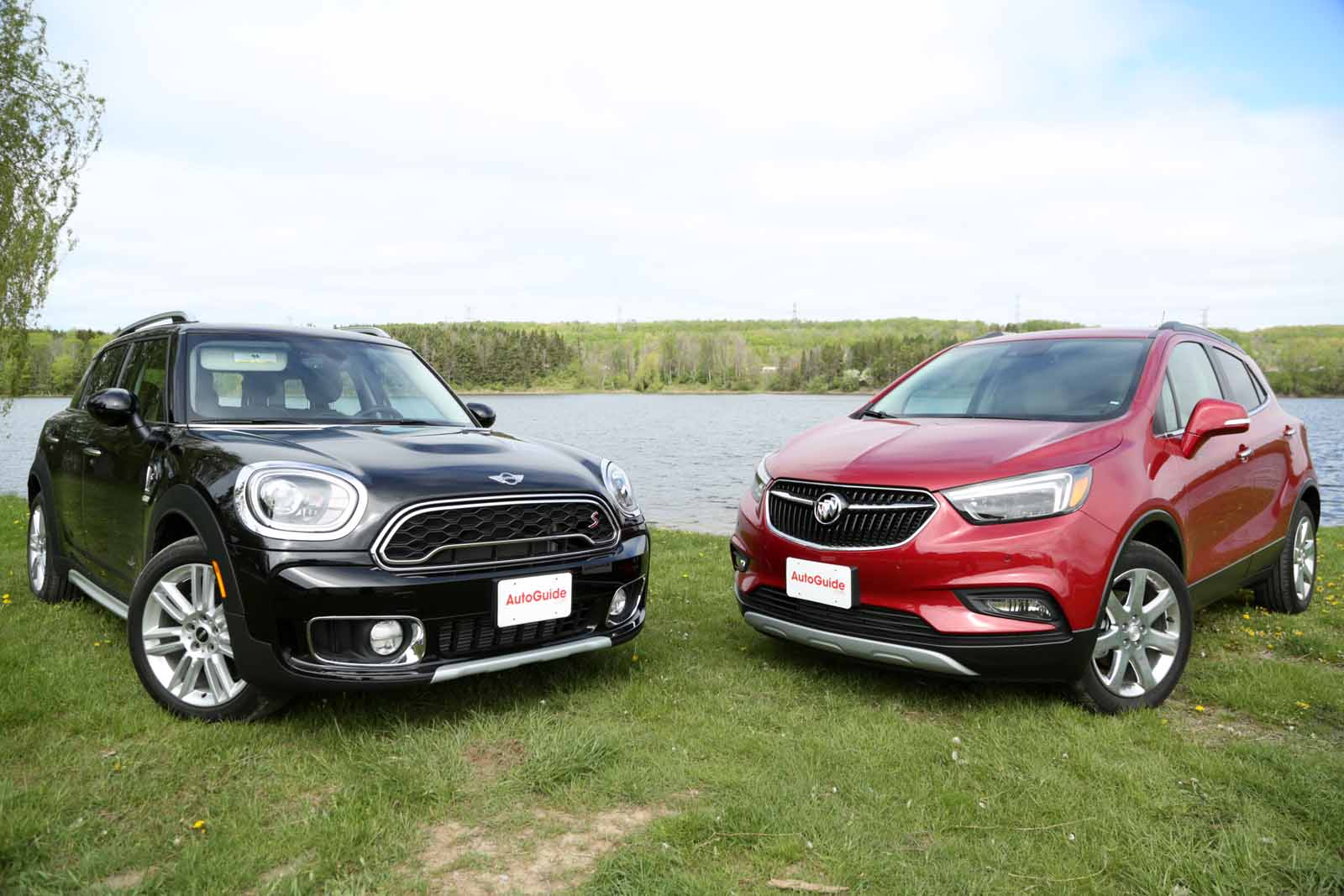 2017 mini countryman vs buick encore comparison news. Black Bedroom Furniture Sets. Home Design Ideas