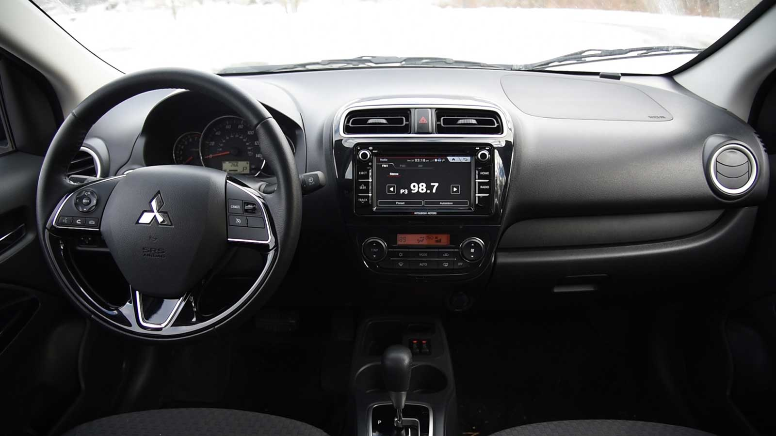 2017 Mitsubishi Mirage Interior 04