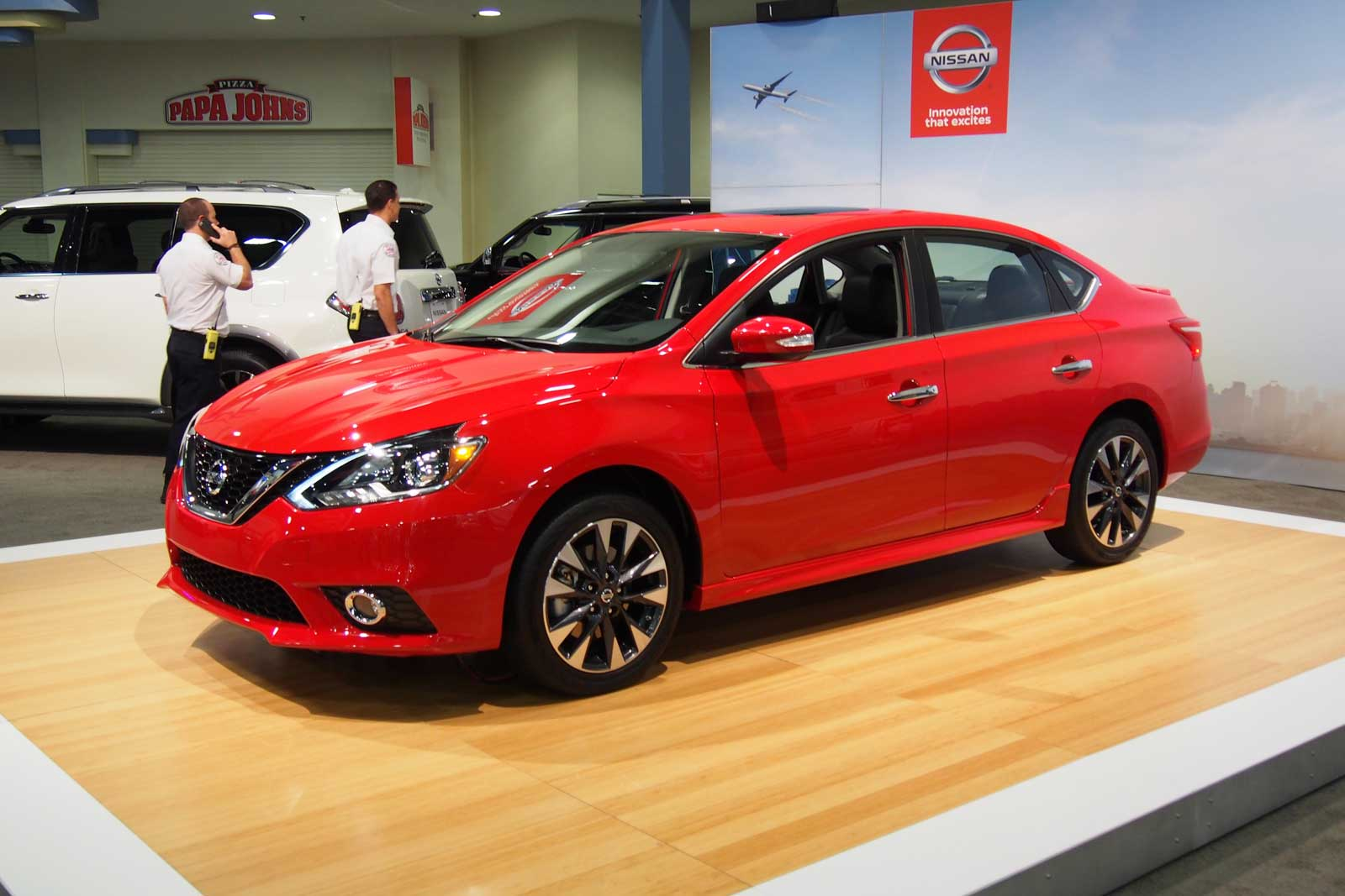 2017 nissan sentra sr turbo finally debuts news. Black Bedroom Furniture Sets. Home Design Ideas