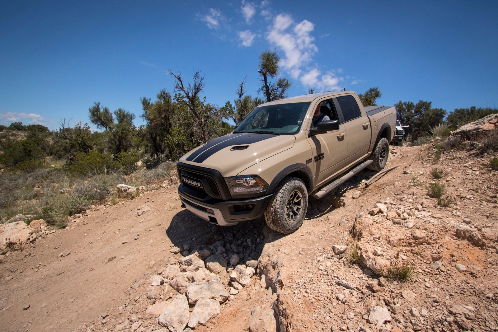 Used Ram Power Wagon >> Can a Ram Rebel Keep up with a Power Wagon in the Arizona Desert? » AutoGuide.com News