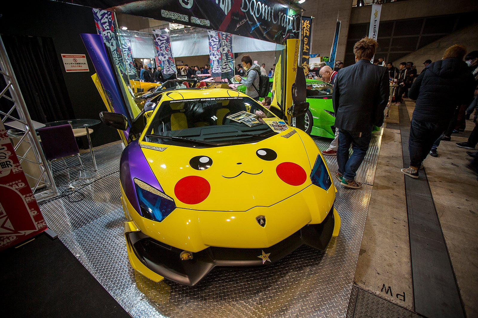 2017 Tokyo Auto Salon The Best And Brightest Custom Cars