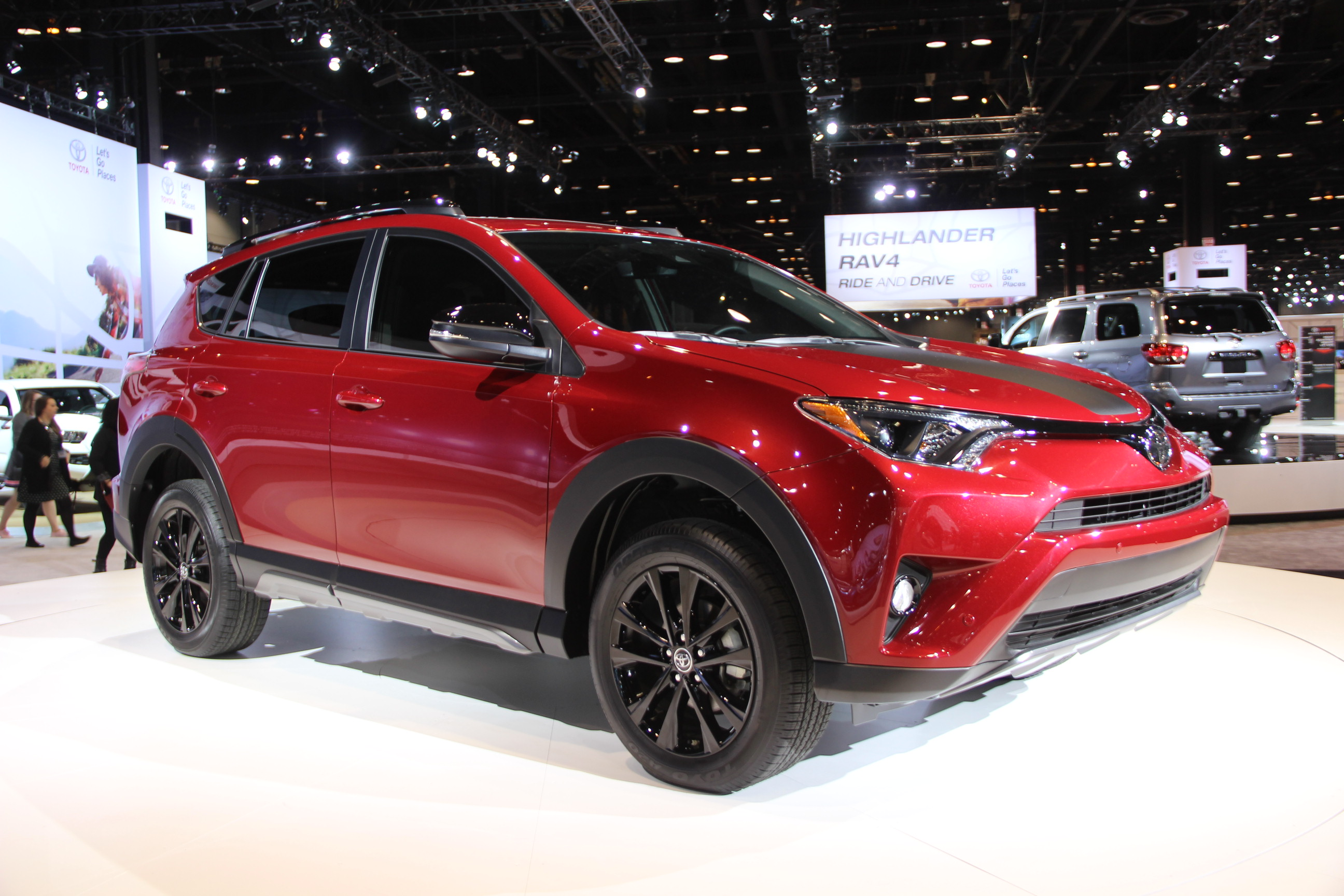 Toyota Sienna Hybrid >> 2018 Toyota RAV4 Adventure is Ready for Fun » AutoGuide.com News