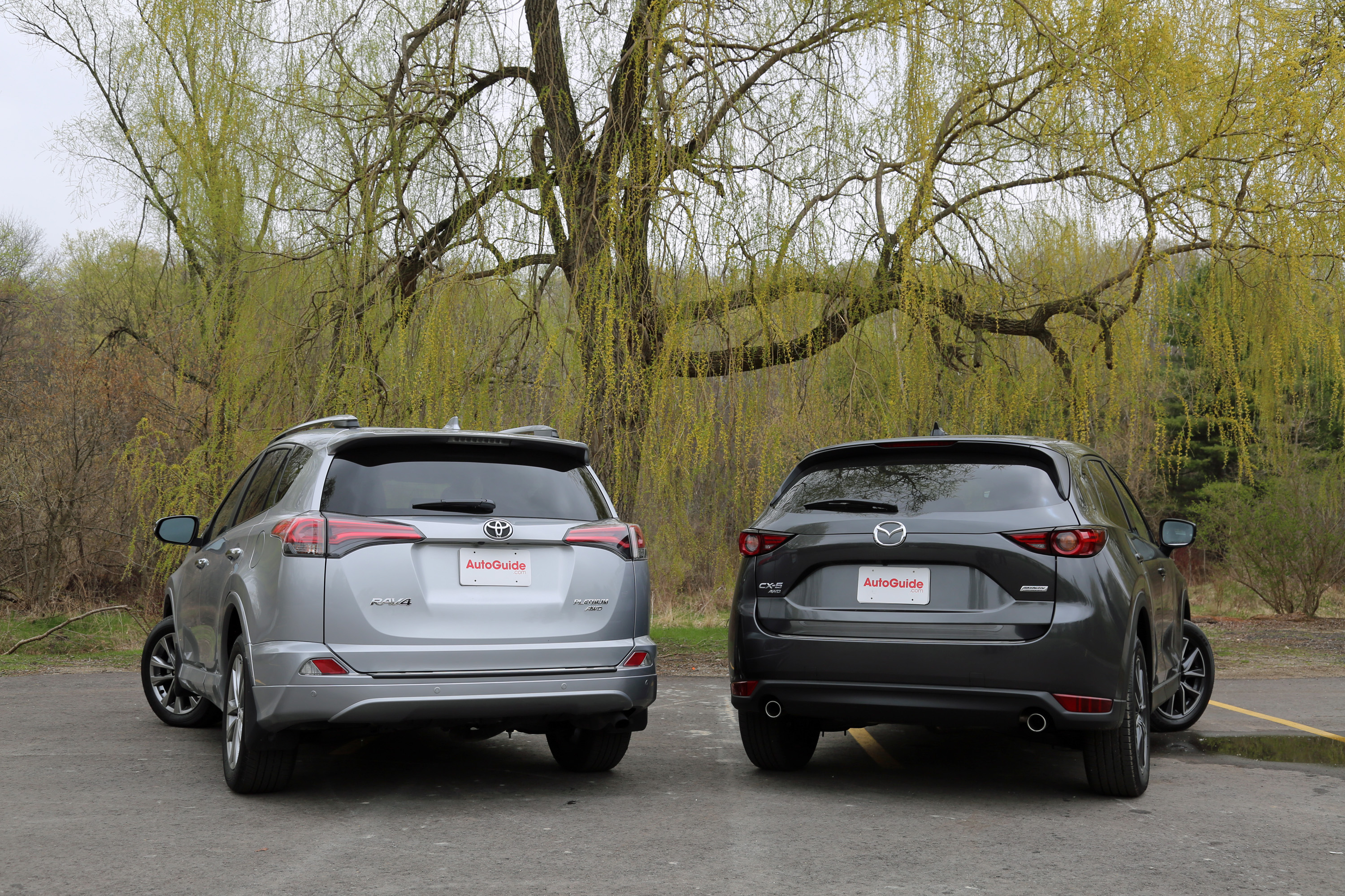 2017 Toyota Rav4 Vs Mazda Cx 5 3