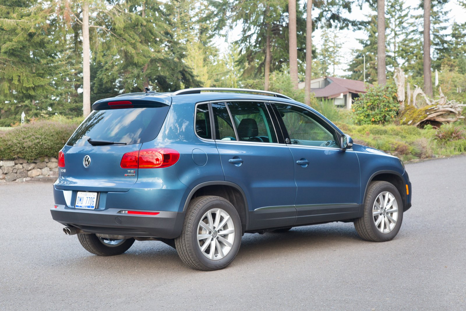 All Types tiguan length : The New-Old 2018 Volkswagen Tiguan Limited Gets Extra Gears ...