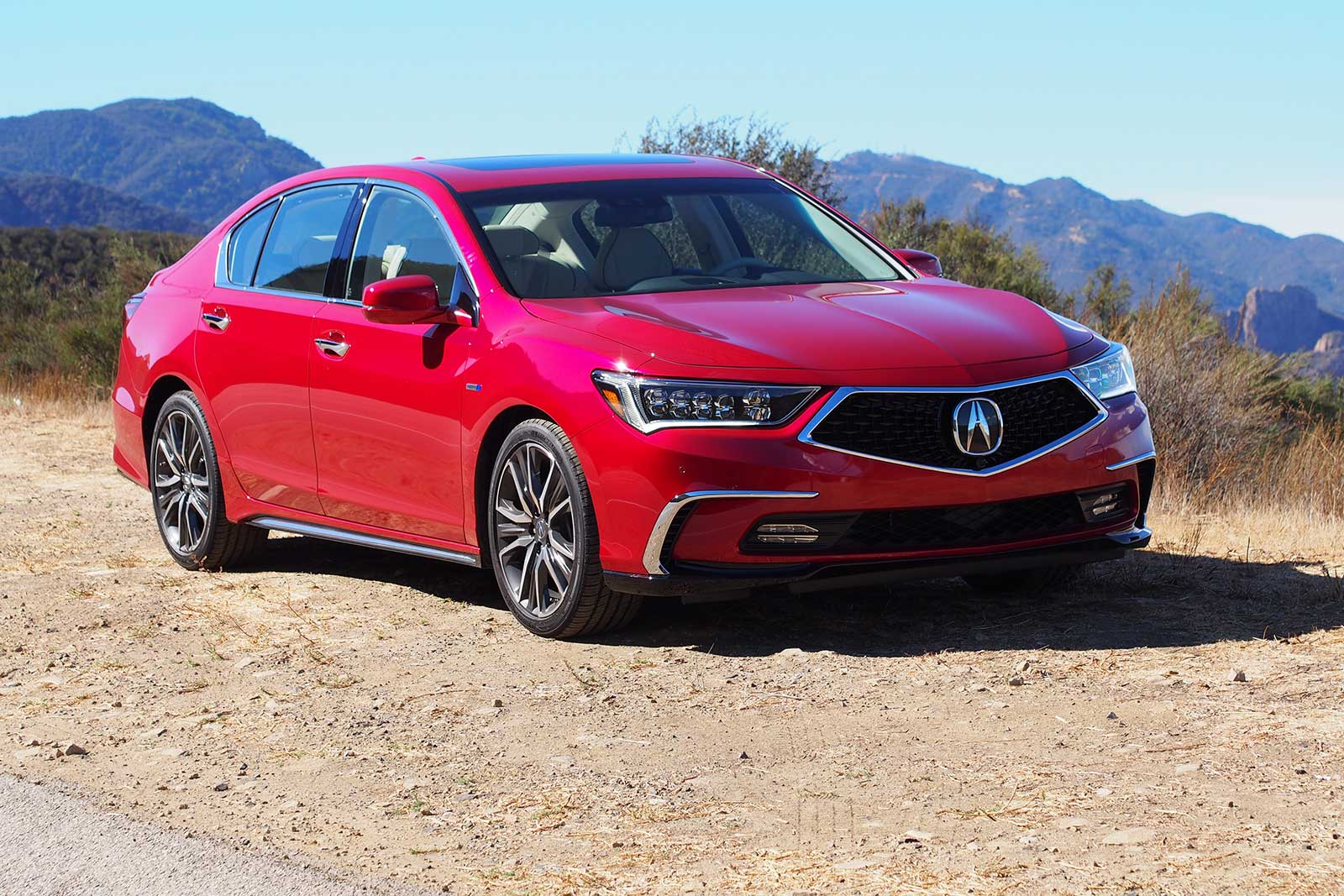 2018 acura rlx facelift revealed adopts acura 39 s new precision crafted performance design. Black Bedroom Furniture Sets. Home Design Ideas