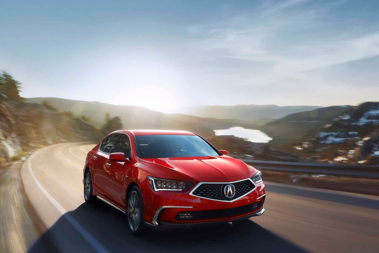 Say hello to the all-new, redesigned Acura RLX