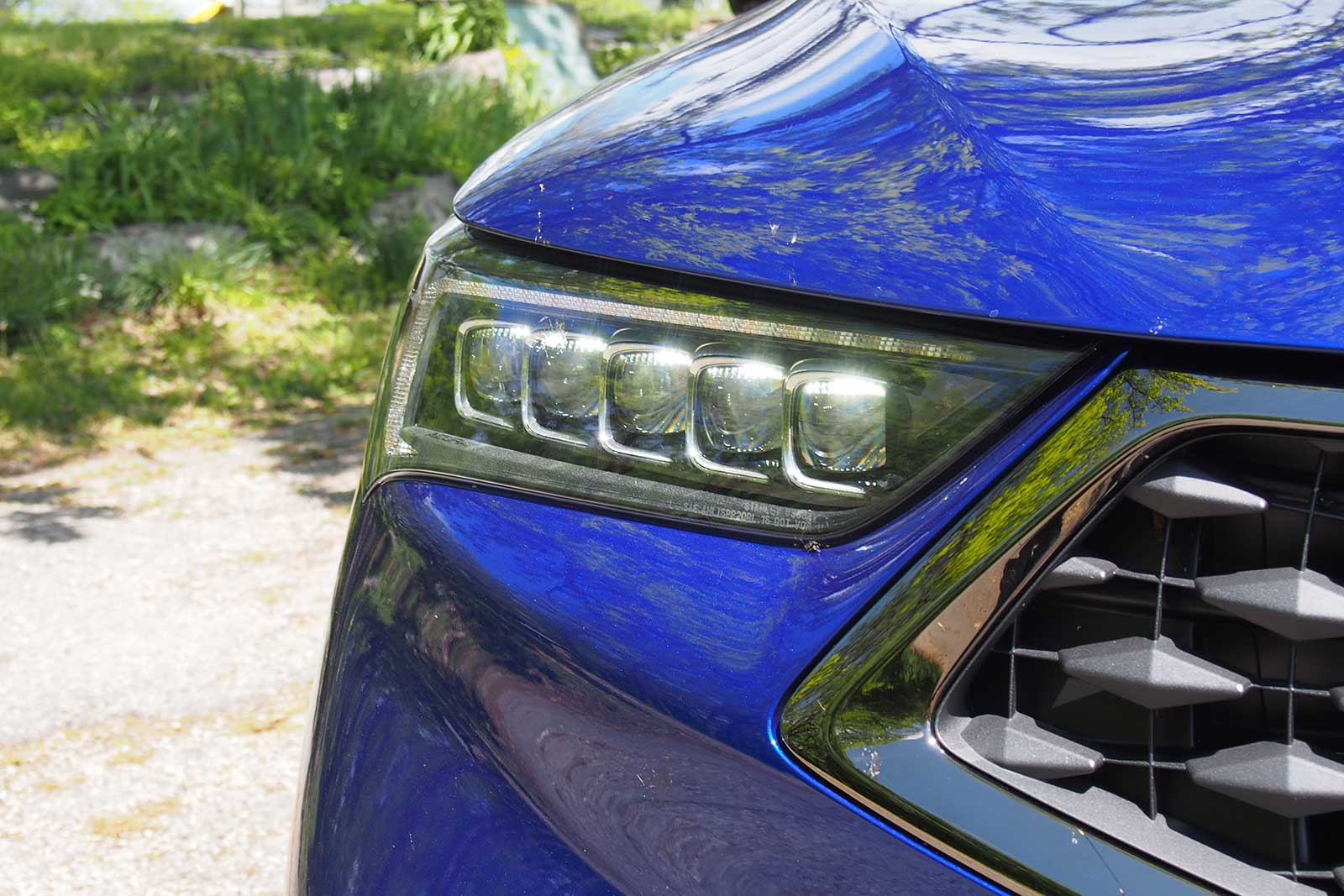 Acura TLX Review AutoGuidecom - 2018 acura tl headlights