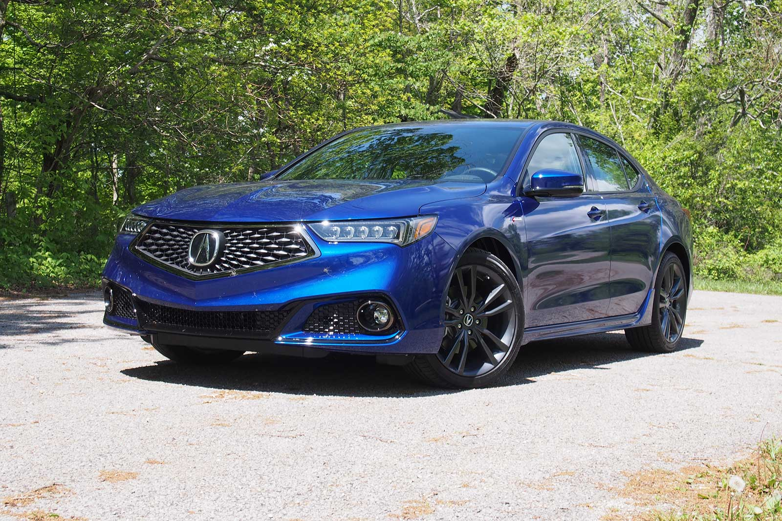 Acura TLX Review AutoGuidecom - Tires for 2018 acura tl