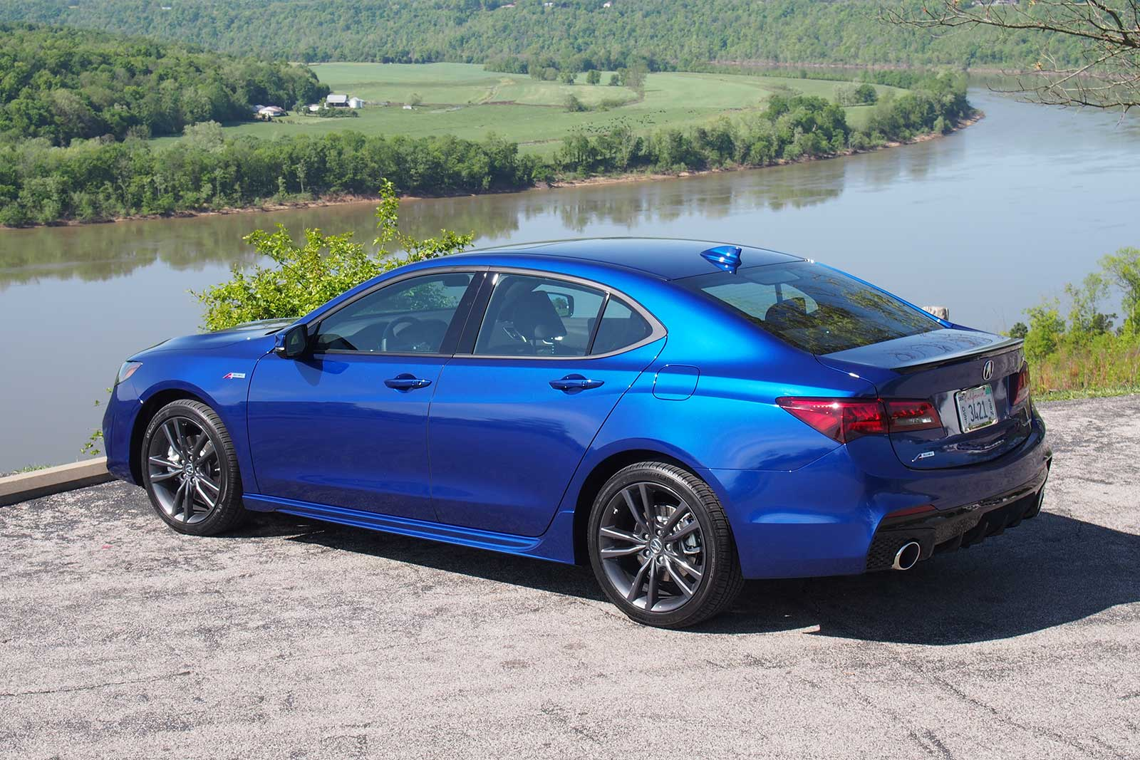 2018 Acura Tlx A Spec Rear