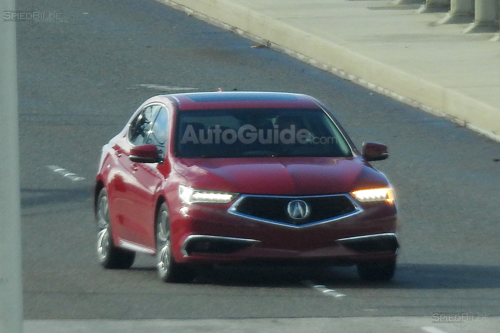 2018 acura tlx spy photos 14
