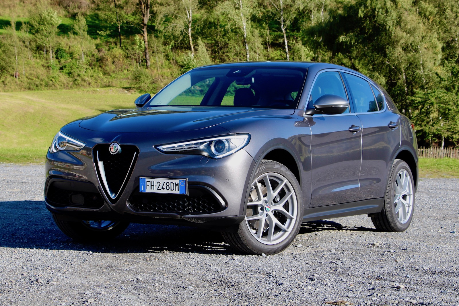 2018 alfa romeo stelvio first drive review news. Black Bedroom Furniture Sets. Home Design Ideas