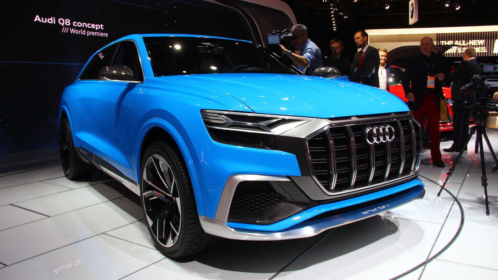 Audi Q8 Concept Jumps On The Coupe Suv Bandwagon 187 Autoguide Com News