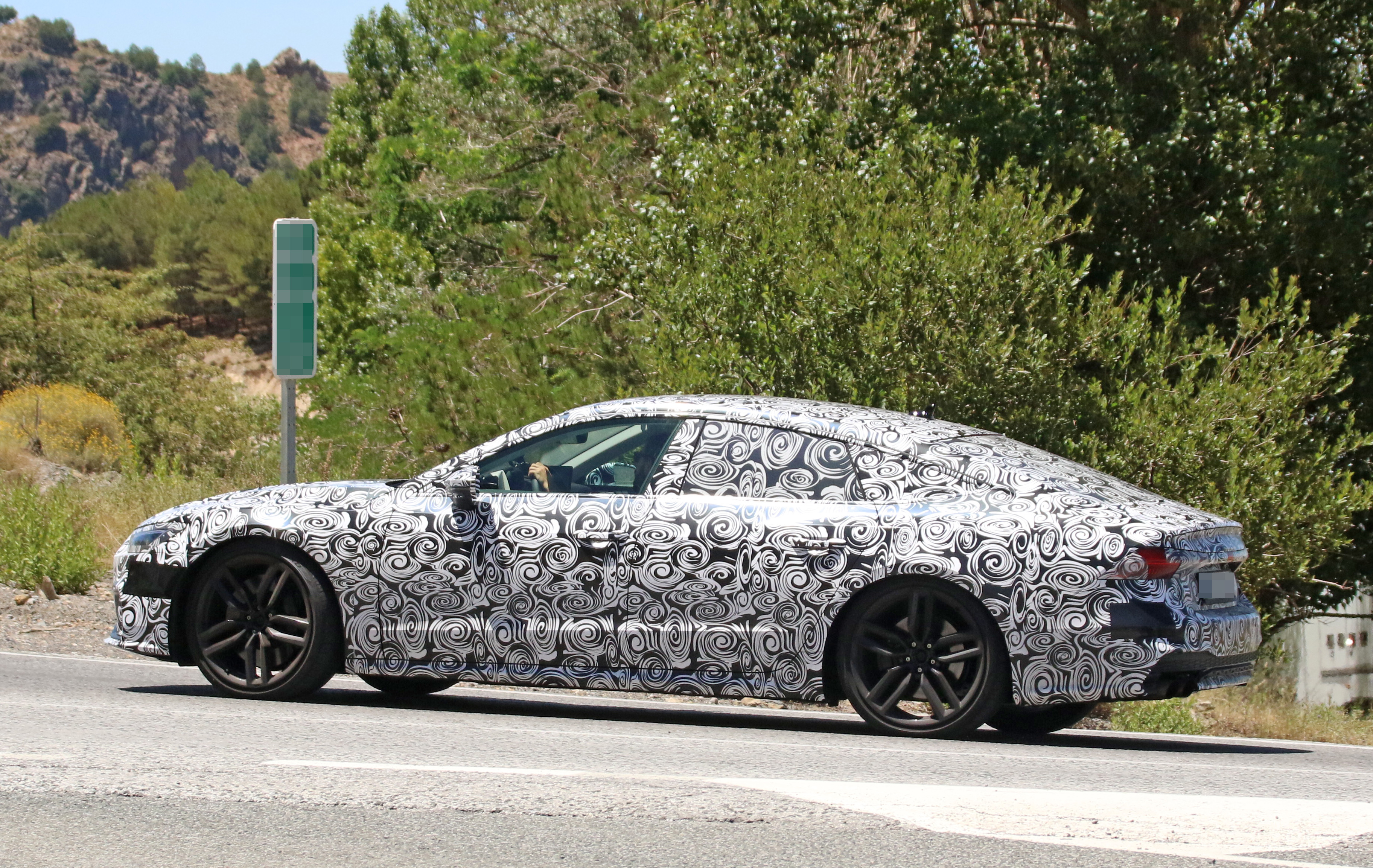 2018 Audi S7 Spied Testing In The Heat Of Southern Europe