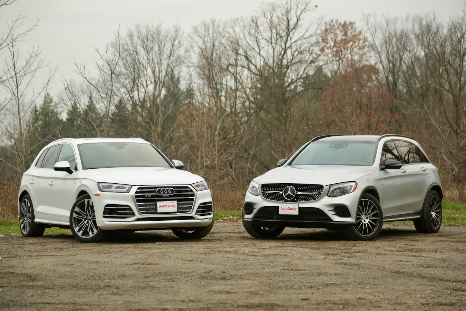 2018 Audi SQ5 vs Mercedes-AMG GLC 43 Comparison Test - AutoGuide.com