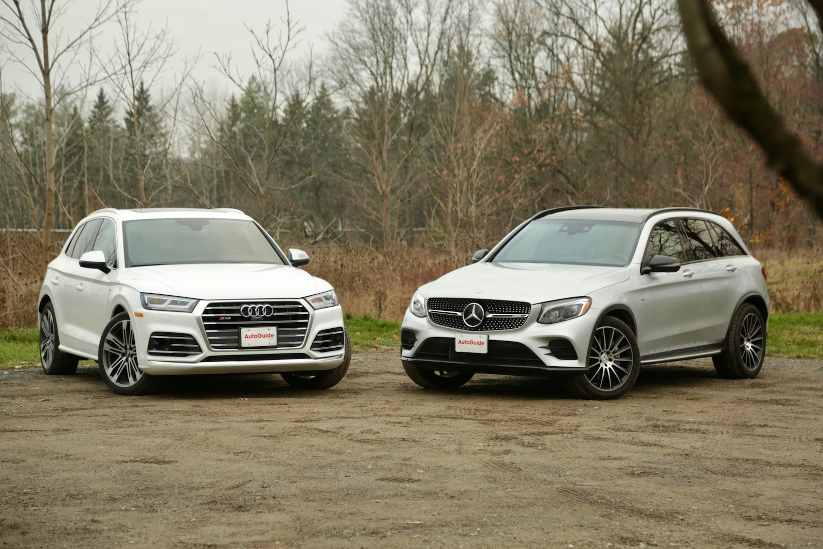 2018 Audi Sq5 Vs Mercedes Amg Glc 43 Comparison Test Autoguidecom