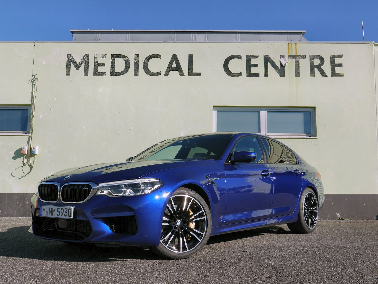 2018 BMW M5 Review Photo Benjamin Hunting AutoGuide