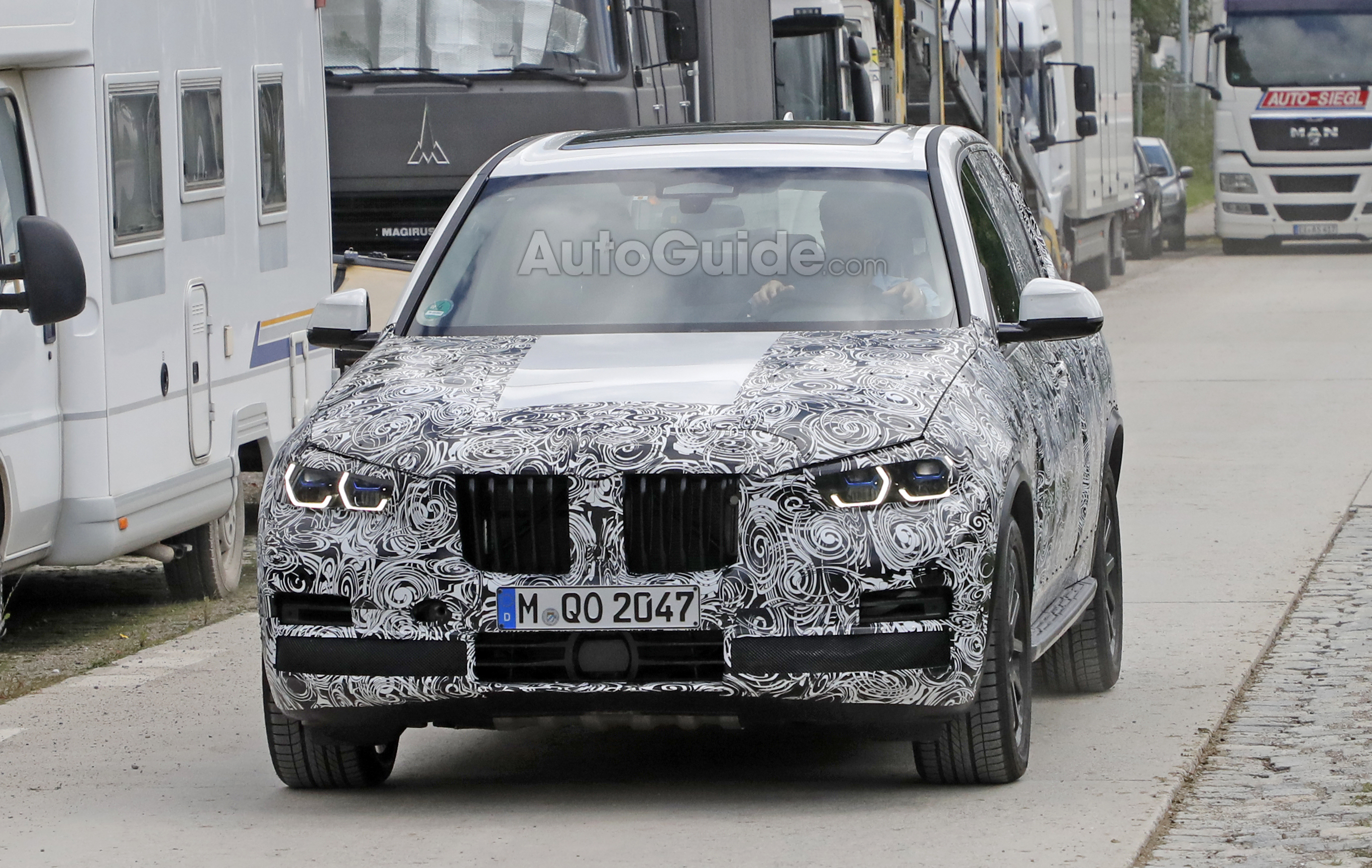 2018 bmw x5. interesting bmw bmwx5spied1  with 2018 bmw x5