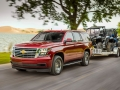 New for 2018, Tahoe LS models are offered with a Custom Edition package. Custom includes features found on LS trim levels and adds 18-inch painted aluminum wheels, all-season tires, a chrome-accented grille and the third row removed for additional cargo space.