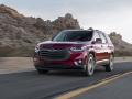 The 2018 Traverse RS features a more street inspired style, with blacked-out styling cues, and lineup exclusive turbocharged performance.