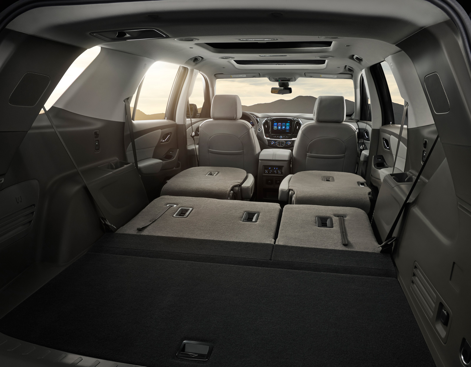 the 2018 traverse is expected to offer best in class passenger volume as well