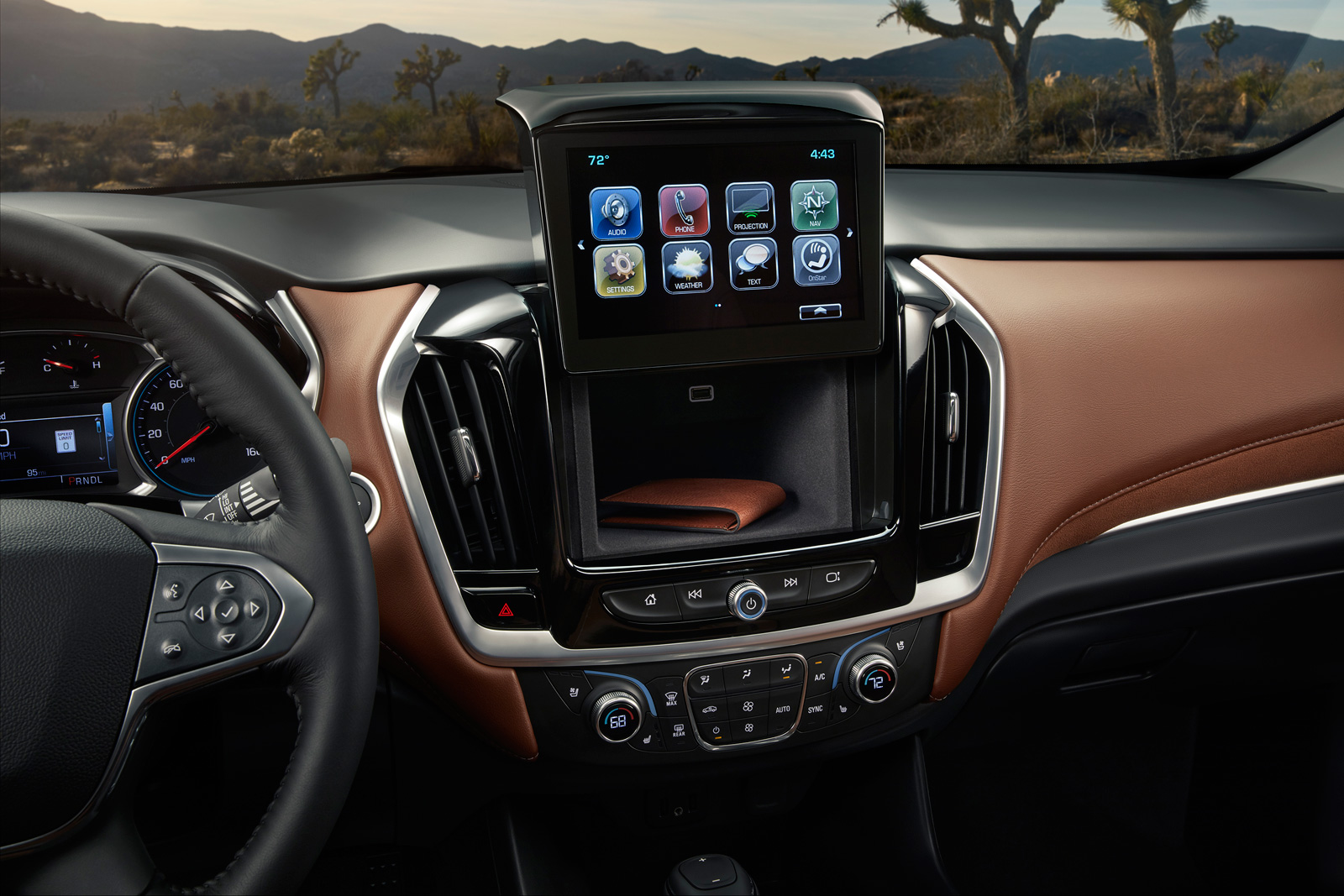 2018 chevrolet traverse. unique chevrolet the 2018 traverse offers thoughtful storage options and larger bins  throughout ergonomically optimized cabin designed to to chevrolet traverse