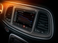 The 2018 Dodge Challenger SRT Demon includes an After-Run Chiller, which makes use of the vehicle's air conditioning to reduce the temperature of the supercharger when the vehicle is turned off, as shown on the 8.4-inch Uconnect touchscreen.
